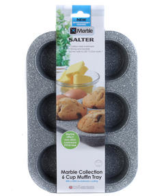 Salter Marble Collection 6 Cup Muffin Tray Thumbnail 5