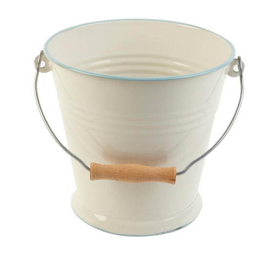 Vintage 5.5 Litre Cream Bucket
