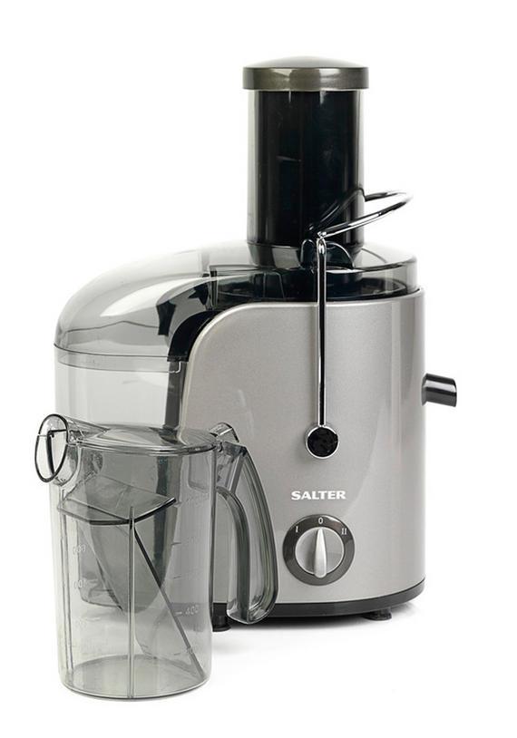 Salter EK1662 Whole Fruit Juicer, 800 W, Silver
