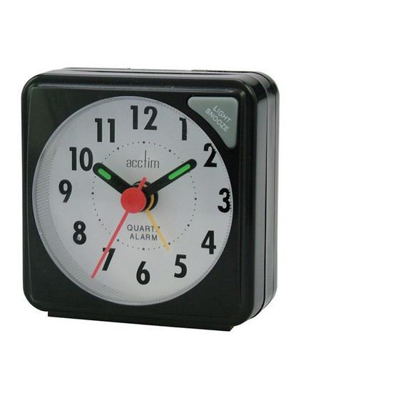 Acctim Ingot Quartz Alarm Clock