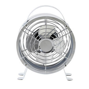 Beldray 4 Inch Mini USB Desk Table Office Fan, White