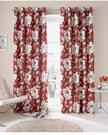 "Ashley Wilde Ready Made Curtains Issy Fully Lined Eyelets (Chilli, 46"" x 54"" (117cm x 137cm))"