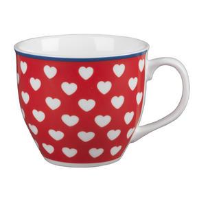 Cambrdige Red Happy Heart Oxford Fine China Mug Thumbnail 1
