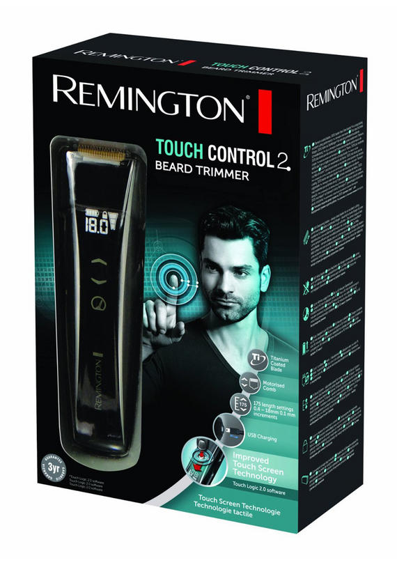 remington mb4555 touch control beard trimmer male grooming no1brands4you. Black Bedroom Furniture Sets. Home Design Ideas