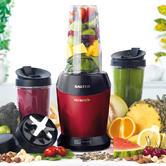 Salter EK2002 Nutri Pro Super Charged Multi-Purpose Nutrient Extractor Blender, 1 Litre, 1000 W, Red Thumbnail 1