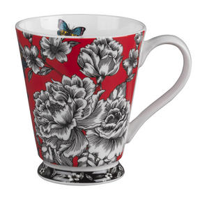 Portobello Buckingham Butterfly Garden Bone China Mug Thumbnail 1