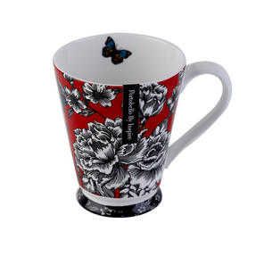 Portobello Buckingham Butterfly Garden Bone China Mug Thumbnail 2