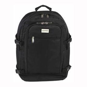 Constellation Rome Flight Backpack With Adjustable Shoulder Straps, Black
