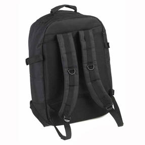 Constellation Rome Flight Backpack With Adjustable Shoulder Straps, Black	 Thumbnail 3