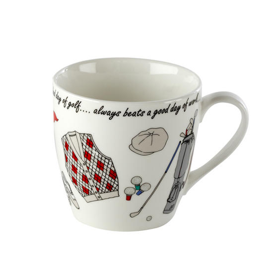 Cambridge Golf Harrogate Fine China AB Grade Mug
