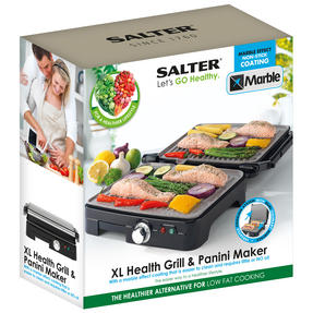Salter Marble Ceramic 180° Health Grill Thumbnail 7