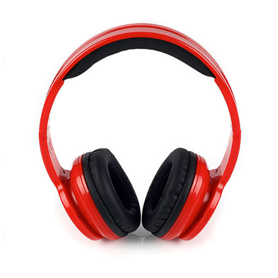 Intempo Red Bluetooth Headphones
