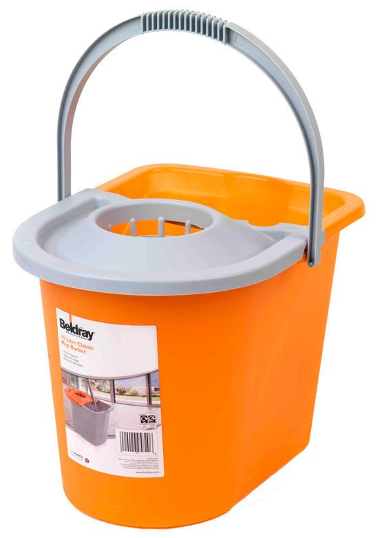 Beldray Orange 15 Litre Mop Bucket Thumbnail 3