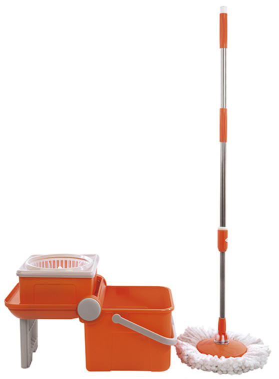 Beldray 360° Spin Mop with Foldable Bucket Thumbnail 2
