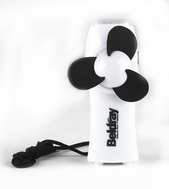 Beldray White Handheld Fan With LED Light