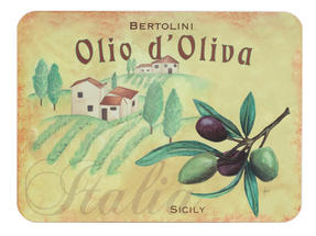 Indulje Luxury Olive Oil Placemat and Coaster Set, Cork, Set of 4 Thumbnail 2