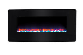 Beldray EH1162 Porto LED Electric Colour Changing Wall Fire with Floor Stand, 1500 W, Black Thumbnail 3