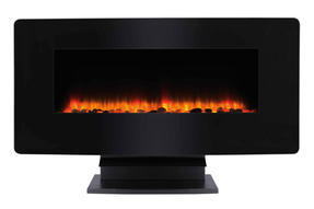 Beldray EH1162 Porto LED Electric Colour Changing Wall Fire with Floor Stand, 1500 W, Black Thumbnail 4