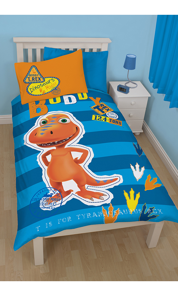 Dinosaur Train Buddy Single Panel Duvet Set