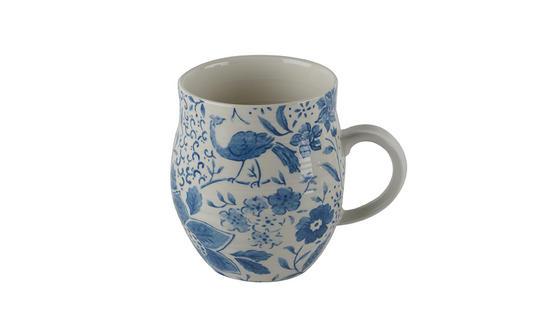 Portobello Anglesey Paradise Cyan Stoneware Mug