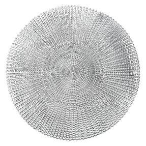 Inspire AN286291 Akari Placemat, PVC, Silver