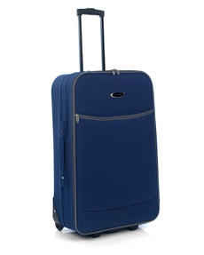 "Constellation 28"" Navy With Grey Trim Eva Suitcase Luggage Case"
