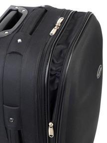 "Constellation Plain Eva Suitcase, 26"", Black Thumbnail 3"