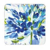 Inspire Set Of 4 Blue Medley Coasters 10.5 cm x 10.5 cm Thumbnail 1
