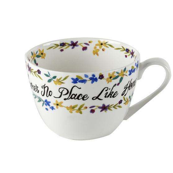 Portobello Wilmslow No Place Like Home Bone China Mug