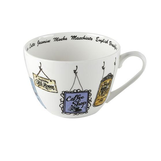 Portobello Wilmslow Vintage Signs Bone China Mug