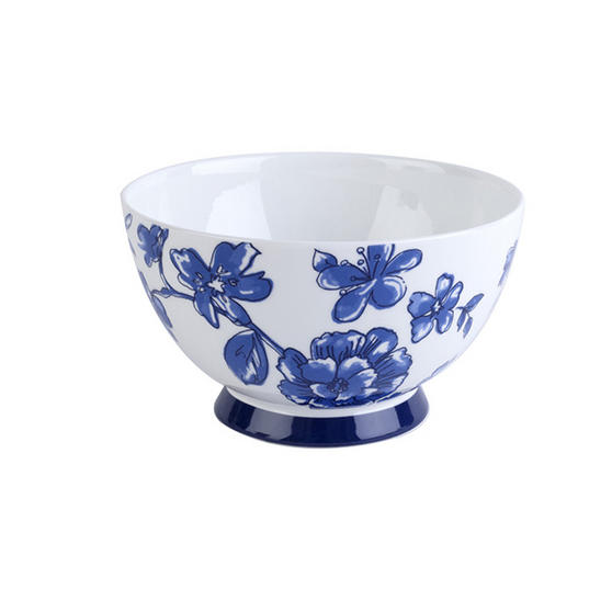 Portobello Footed Perla Bone China Bowl