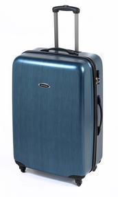 "Constellation 28"" Brushed Metallic ABS Suitcase"