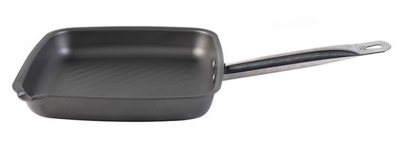 Russell Hobbs BW04202 Infinity Carbon Steel Griddle Pan, 26 cm, Grey