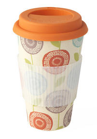 Cambridge CM04433 Bamboo Garden of Life Travel Mug