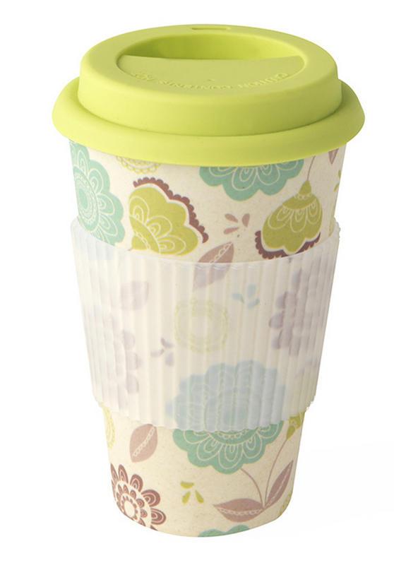 Cambridge CM04439 Bamboo Zora Travel Mug