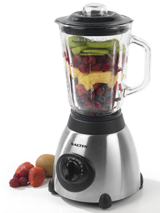 Salter Silver 1.5 Litre 5 Speed Blender