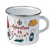 Cambridge 9cm Enamel Adventure Is Calling Mug