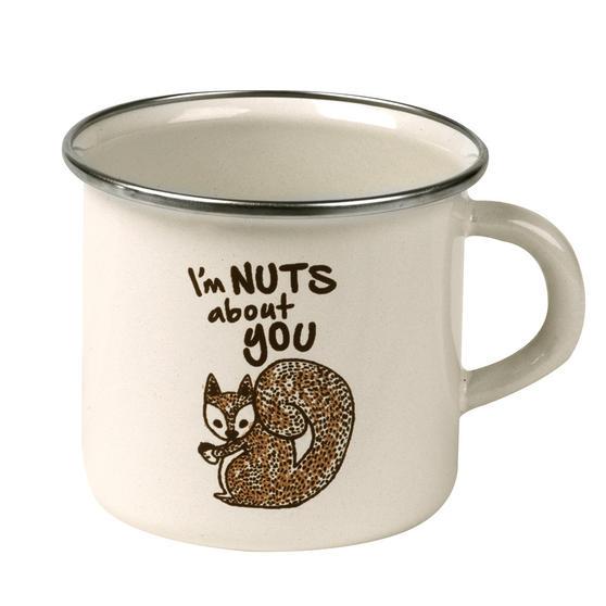 Cambridge BW0397509 Enamel Nuts About You Mug