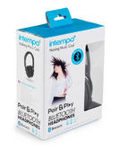 Intempo Black Bluetooth Headphones Thumbnail 5