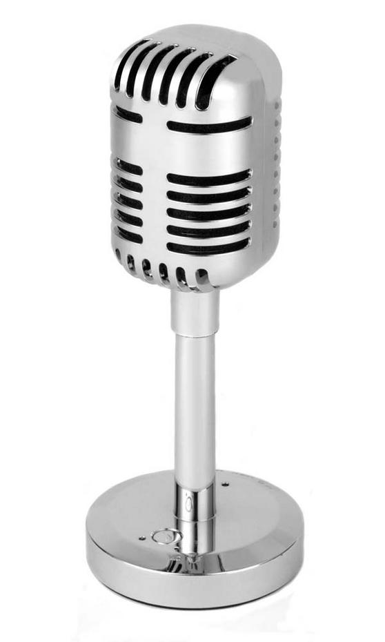 Intempo EE1157 Silver Bluetooth Microphone Speaker