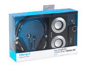 Intempo 4-In-1 Stereo Black Gift Set EE1108 Thumbnail 2