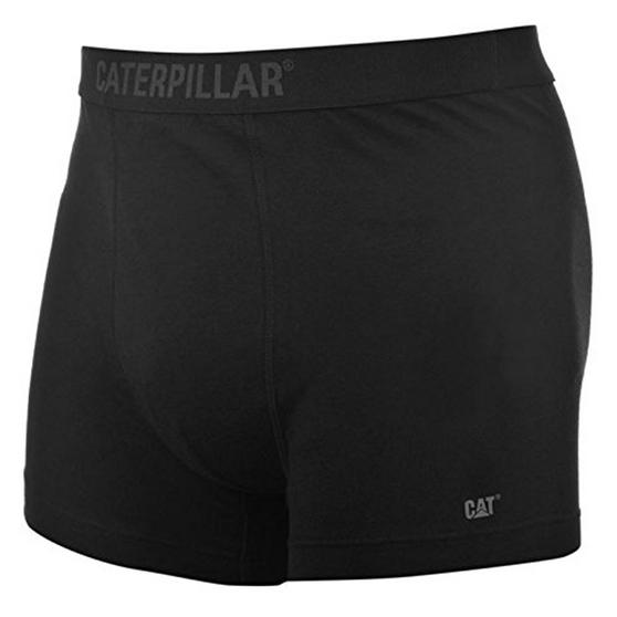 "CAT Mens Gents Boxer Black Elasticated Waist Band Large 36"" MO31400L"