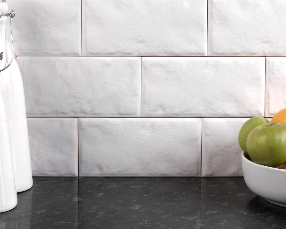 White wash wood tile