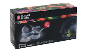 Russell Hobbs BW03721DB Stone Collection Daybreak 3 Piece Kitchen Pan Set Thumbnail 2