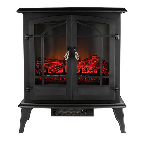 """Beldray Alcudia 25"""" Panoramic Electric Stove"""