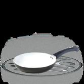 Russell Hobbs Black Ceramic Coated Alumiium Frying Pan 24cm
