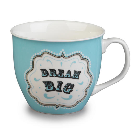 Cambridge Oxford Dream Big Fine China Mug CM04704