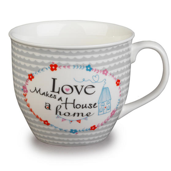Cambridge Oxford Love Makes A Home Fine China Mug CM04710