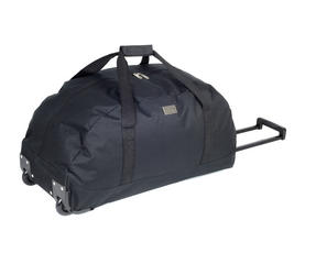Constellation Rome Roller Holdall Suitcase, Black Thumbnail 2