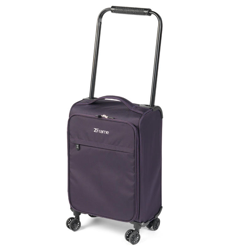 """ZFrame 8 Wheel Super Lightweight Suitcase Set, 18, 22 & 26"""", Purple"""